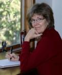 Shirley at desk