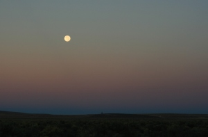 Moon over Malheur