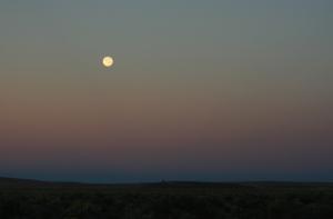Moon over Malheur