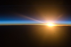 Sunrise - space station ATT00089