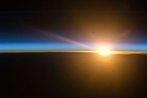 Sunrise - space station ATT00089